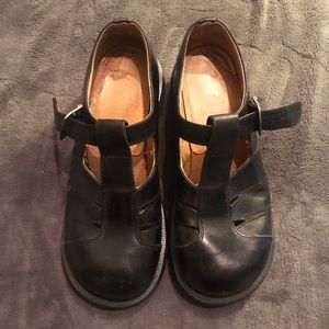 Dr. Martens Black Vintage Mary Jane Shoes Sz Uk 5
